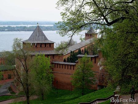 Фото Кремля Нижнего Новгорода