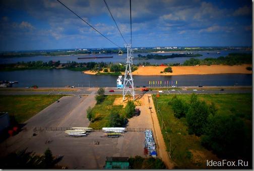 Канатная дорога Нижний Новгород–Бор