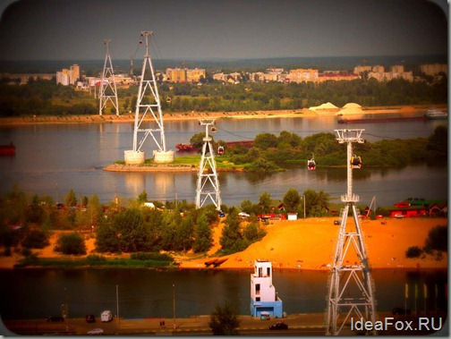 Канатная дорога Нижний Новгород Бор