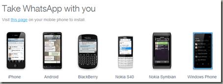 телефоны, которые поддерживают whatsapp