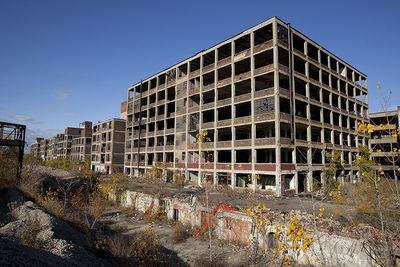 Завод Packard в Детройте