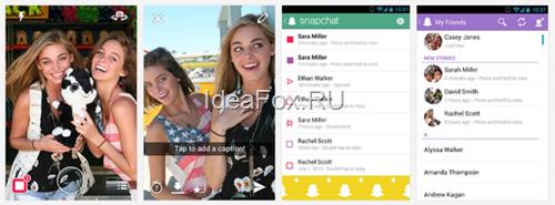Обзор сервиса SnapChat.Com