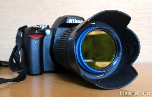 Фотокамера + фильтр