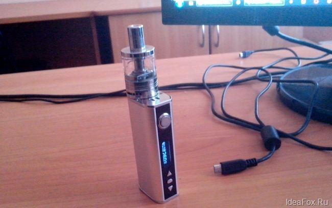 Вид электронной сигареты