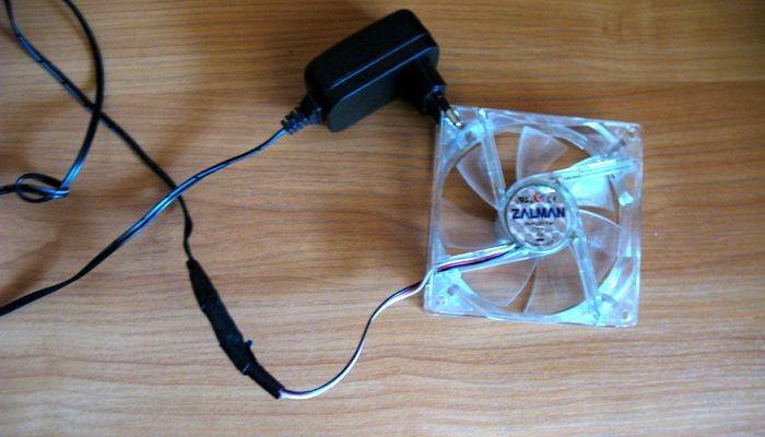 готовый самодельный вентилятор