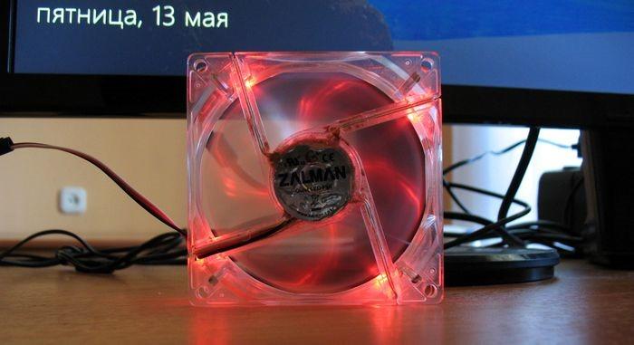 работающий самодельный вентилятор