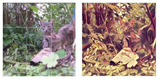 Пример до и после обработки